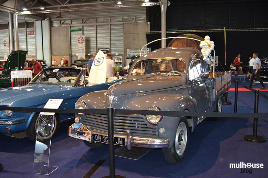 Festival des véhicules anciens -Mulhouse - 203 bonhomme Michelin