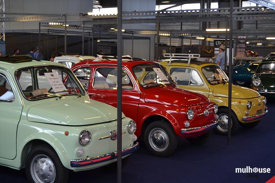 Festival des véhicules anciens -Mulhouse - Fiat