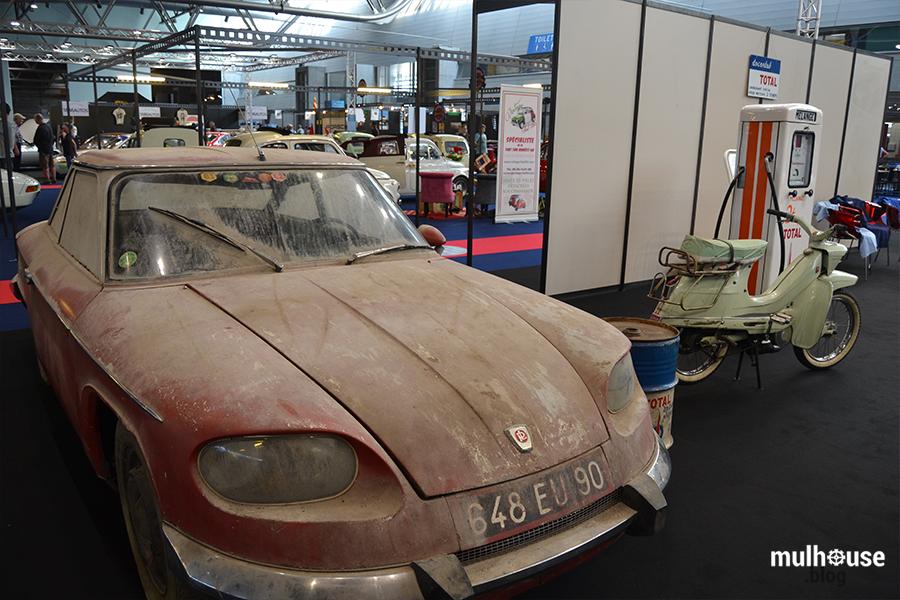 Festival des véhicules anciens -Mulhouse - Panhard sortie de grange