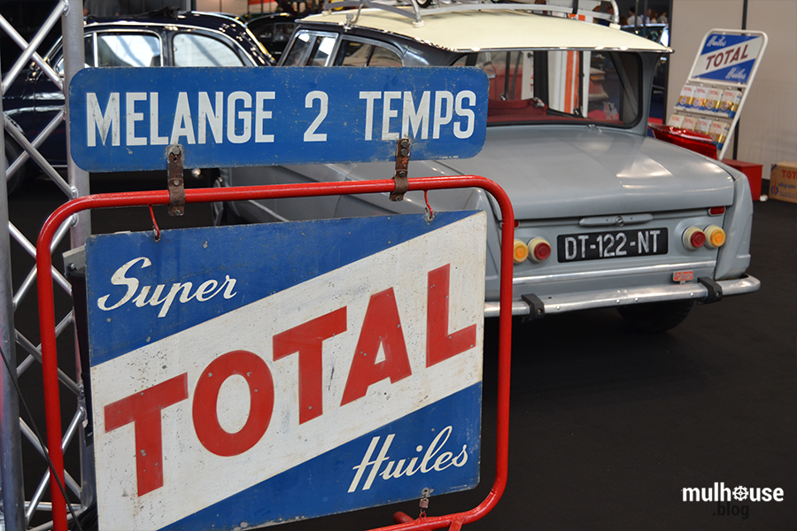 Festival des véhicules anciens -Mulhouse - Panneau Total