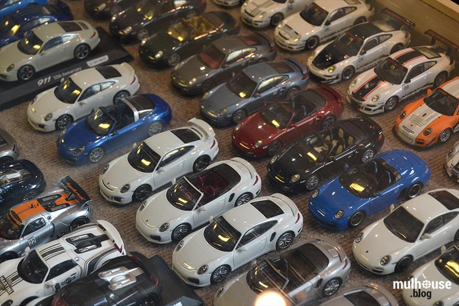 Festival des véhicules anciens -Mulhouse - Porsches miniatures