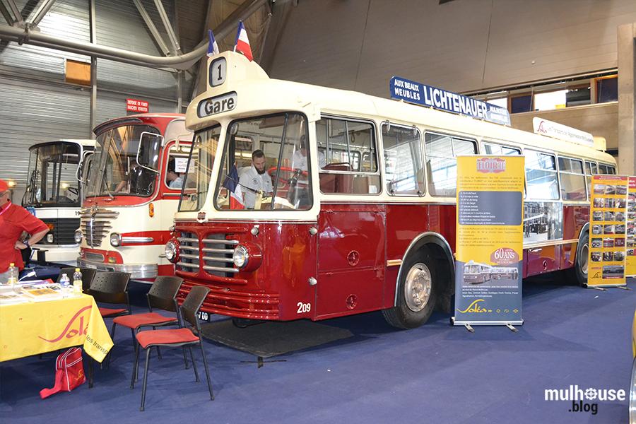 Festival des véhicules anciens -Mulhouse - bus
