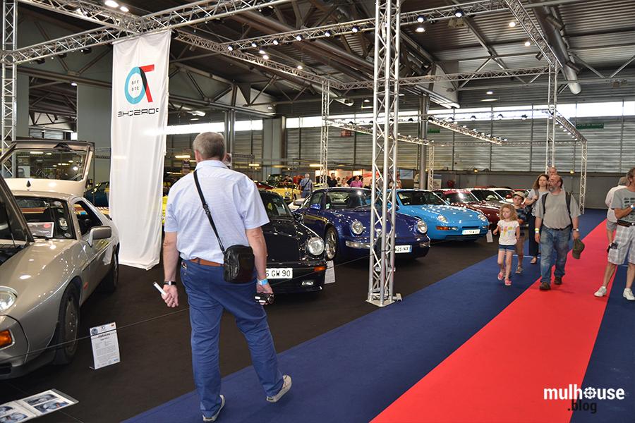 Festival des véhicules anciens -Mulhouse - stand Porsche