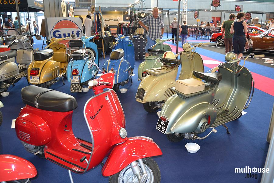 Festival des véhicules anciens -Mulhouse -vespa 2